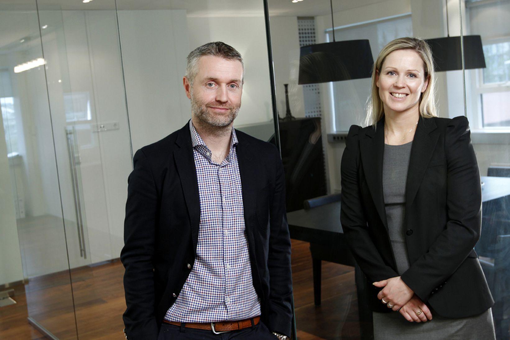 Svanhildur Nanna Vigfúsdóttir og Guðmundur Örn Þórðarson.