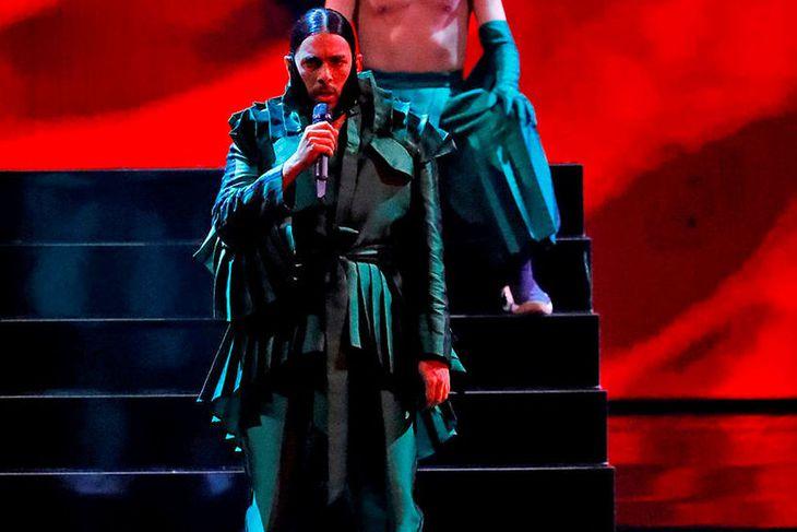 Conan Osiris keppti fyrir hönd Portúgal í Eurovision 2019 og ...