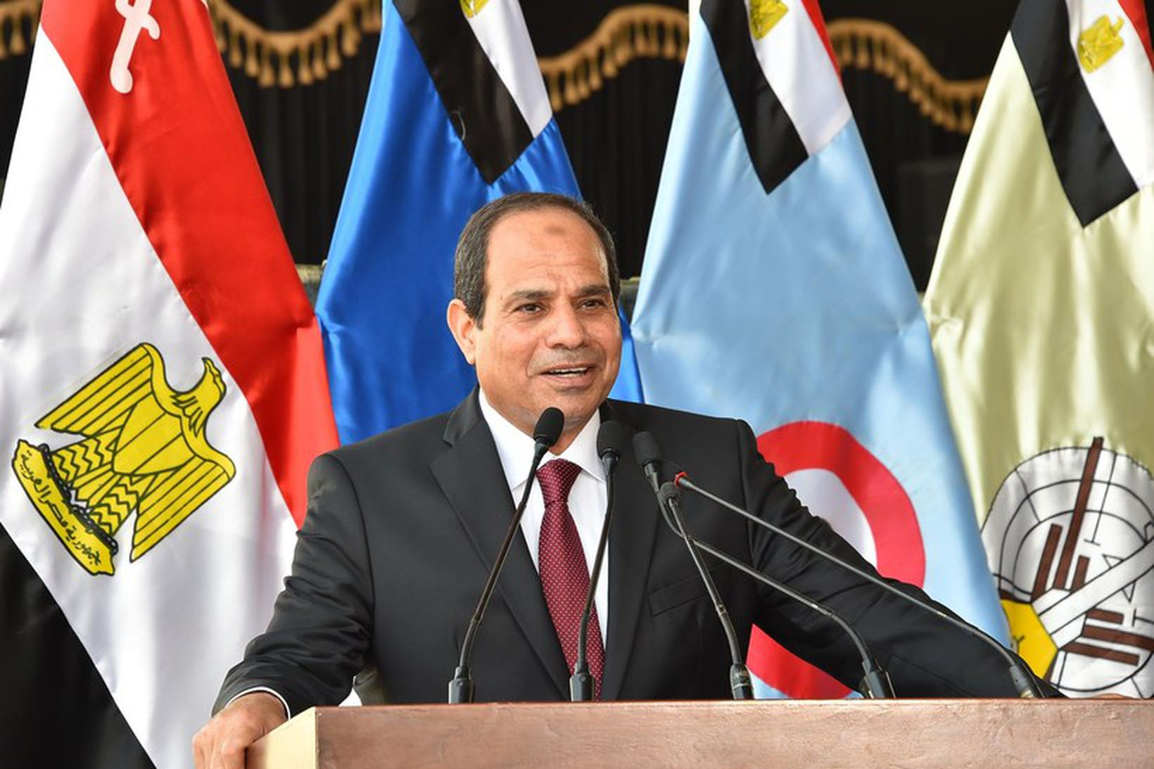 Abdel Fattah al-Sisi, forseti Egyptalands.