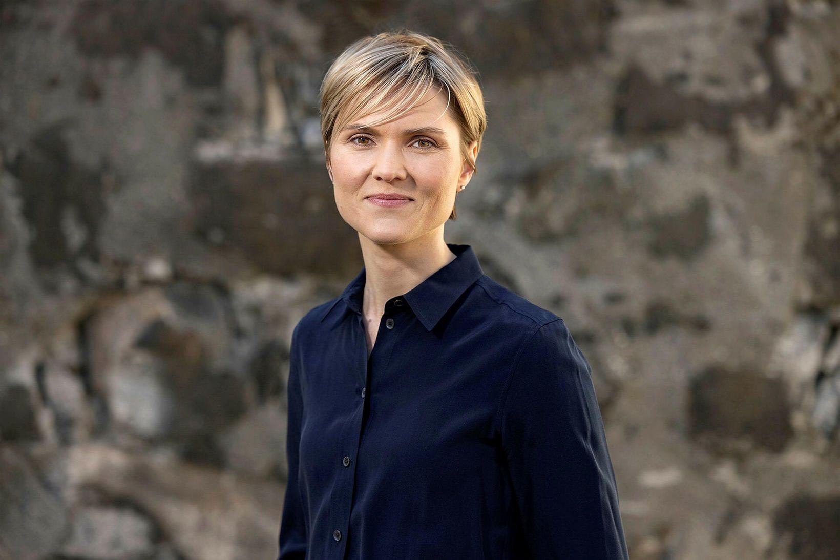 Kristrún Frostadóttir oddviti Samfylkingarinnar í Reykjavík suður flutti mikið þegar …