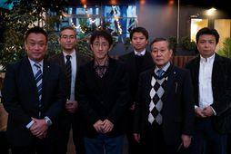 F.v. Takahiro Tamura, forstjóri Azuma Foods USA, Hiroshi Yamazaki, framkvæmdastjóri innkaupa og framleiðslu uppsjávarafurða frá …