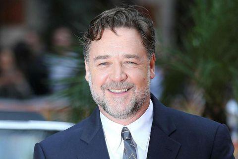 Russell Crowe var búinn að sakna þess að fara til útlanda.