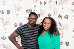 Paul Ramses Oduor og Rosemary Atieno Odhiambo búa ásamt börnum sínum í Hafnarfirði.