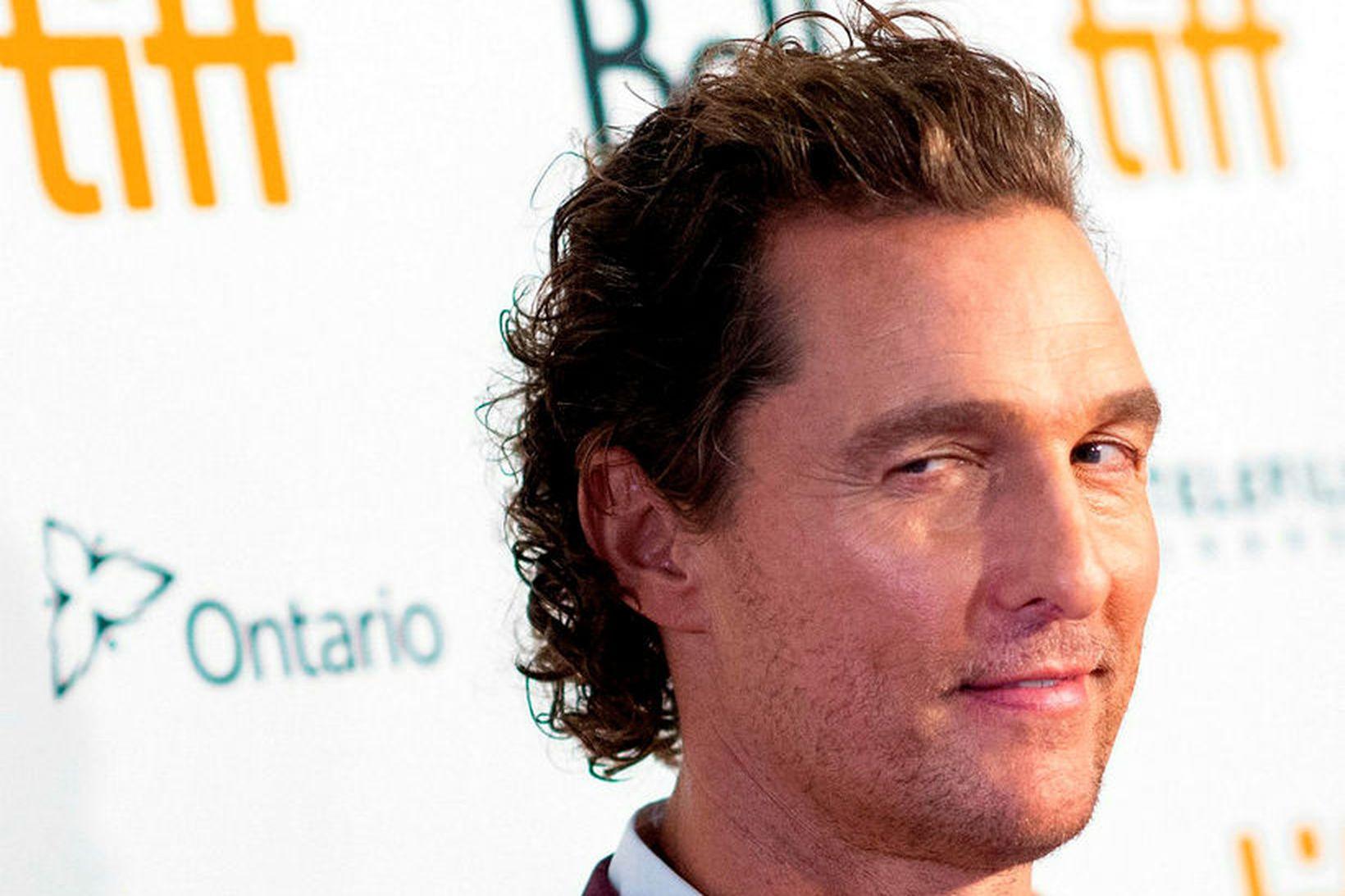 Stórleikarinn Matthew McConaughey er greinilega mikill knattspyrnuáhugamaður ef marka má …