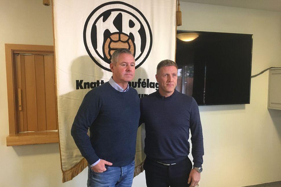 Kristinn Kjærnested og Rúnar Kristinsson.