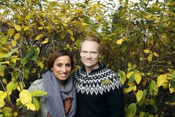 Yesmine Olsson og Arngrímur Fannar Haraldsson.