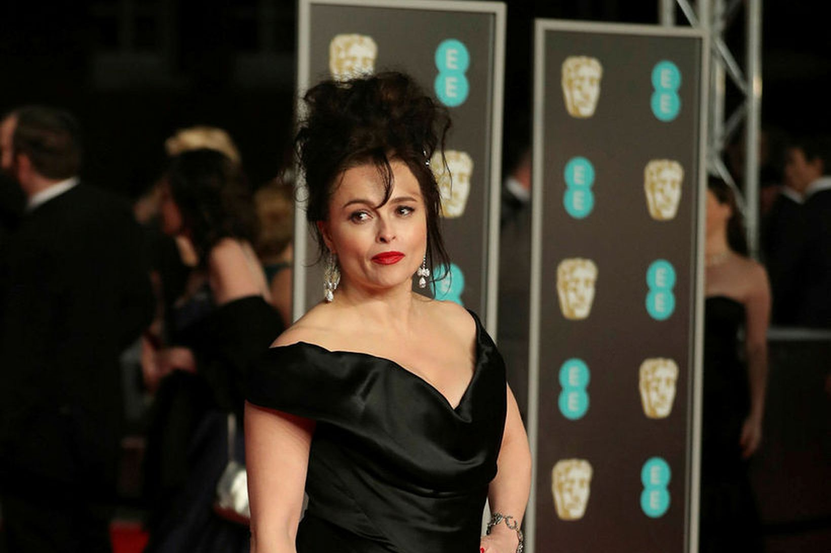 Helena Bonham Carter segir aldursmuninn vera tilviljun.