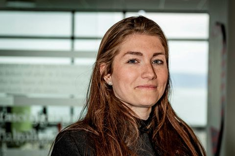 Guðlaug Líney Jóhannsdóttir, formaður Flugfreyjufélags Íslands.