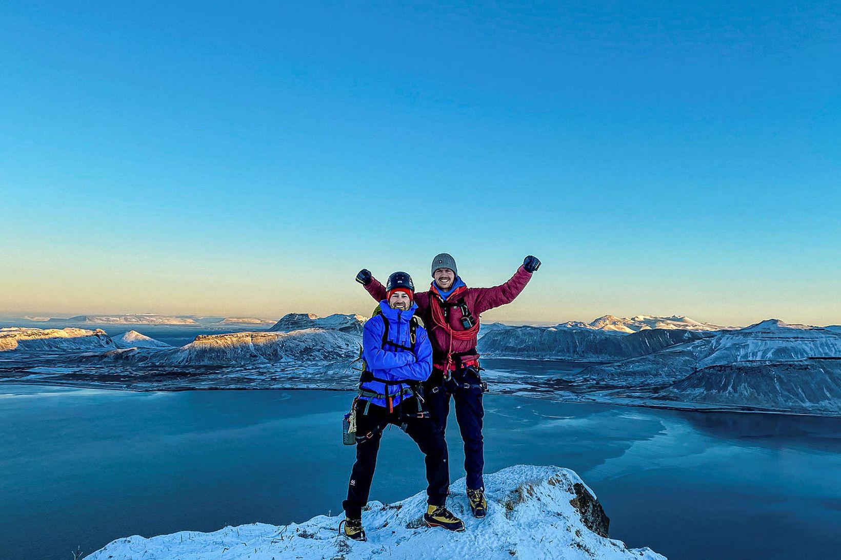 Sigurður Bjarni Sveinsson og Heimir Fannar Hallgrímsson.