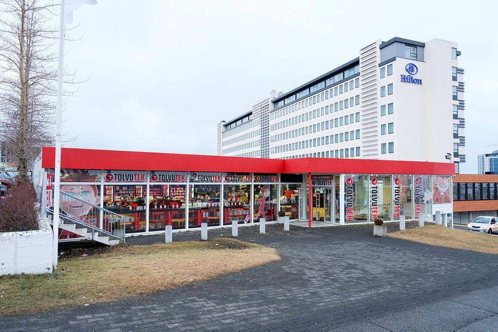 Verslun Tölvuteks í Reykjavík mun ekki verða áfram í Hallarmúla.
