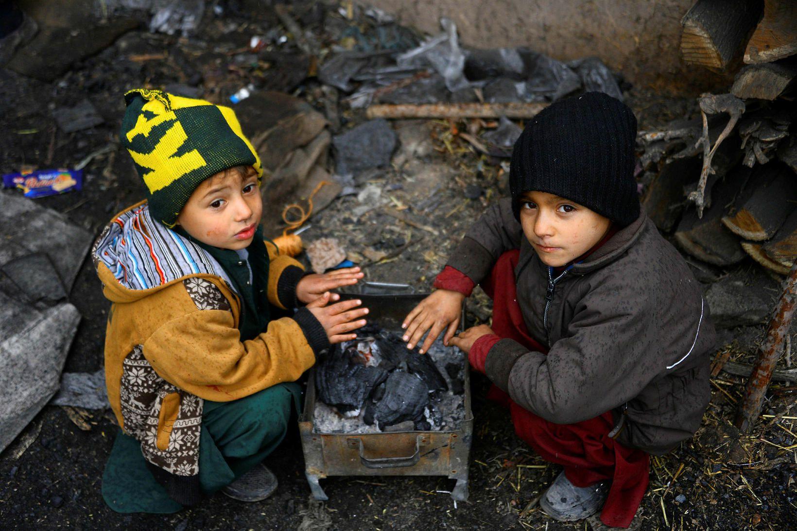 Afganistan er eitt ellefu hættulegustu landa heims fyrir börn.
