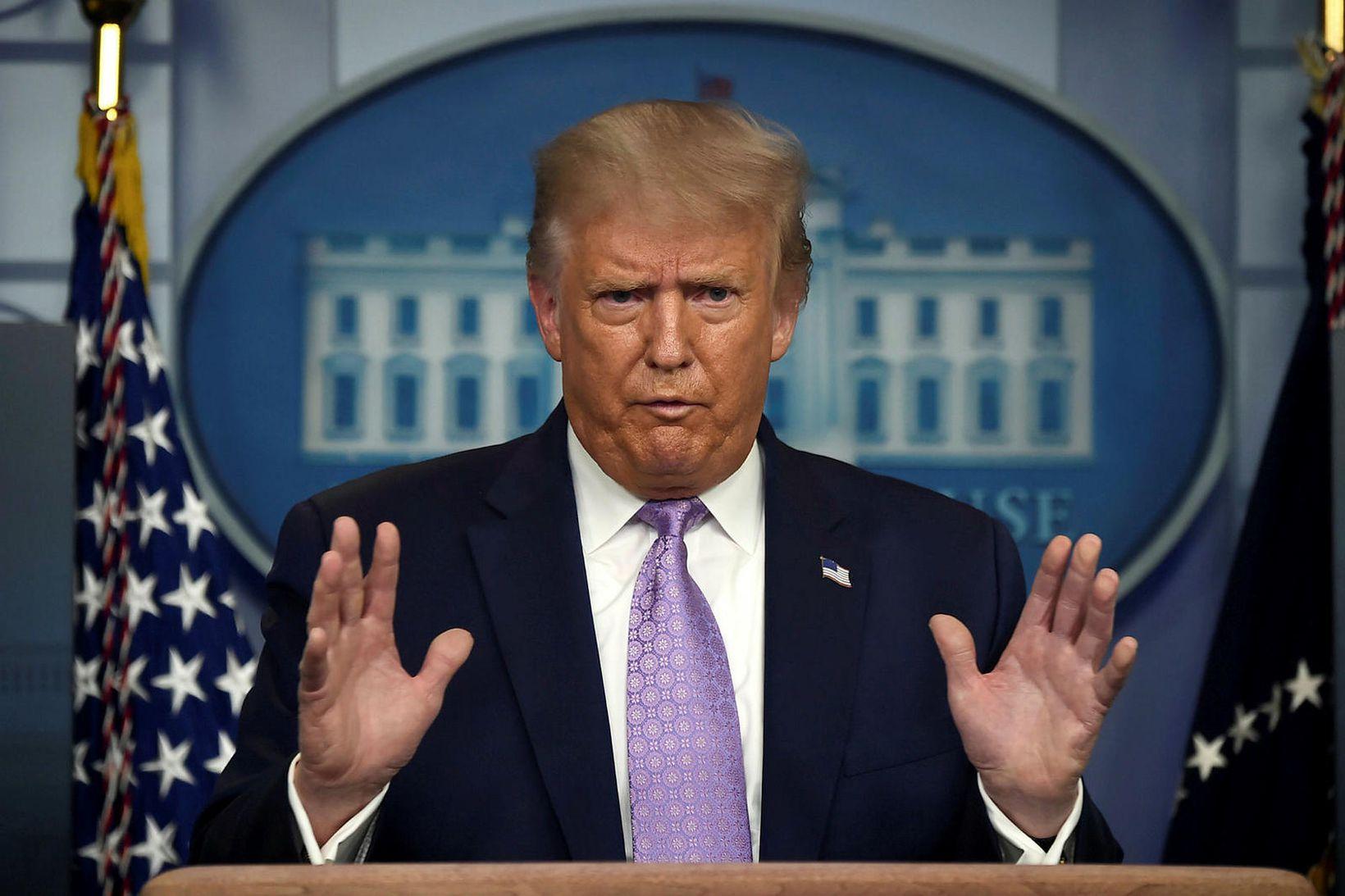 Ummælin voru hliðholl Donald Trump Bandaríkjaforseta.