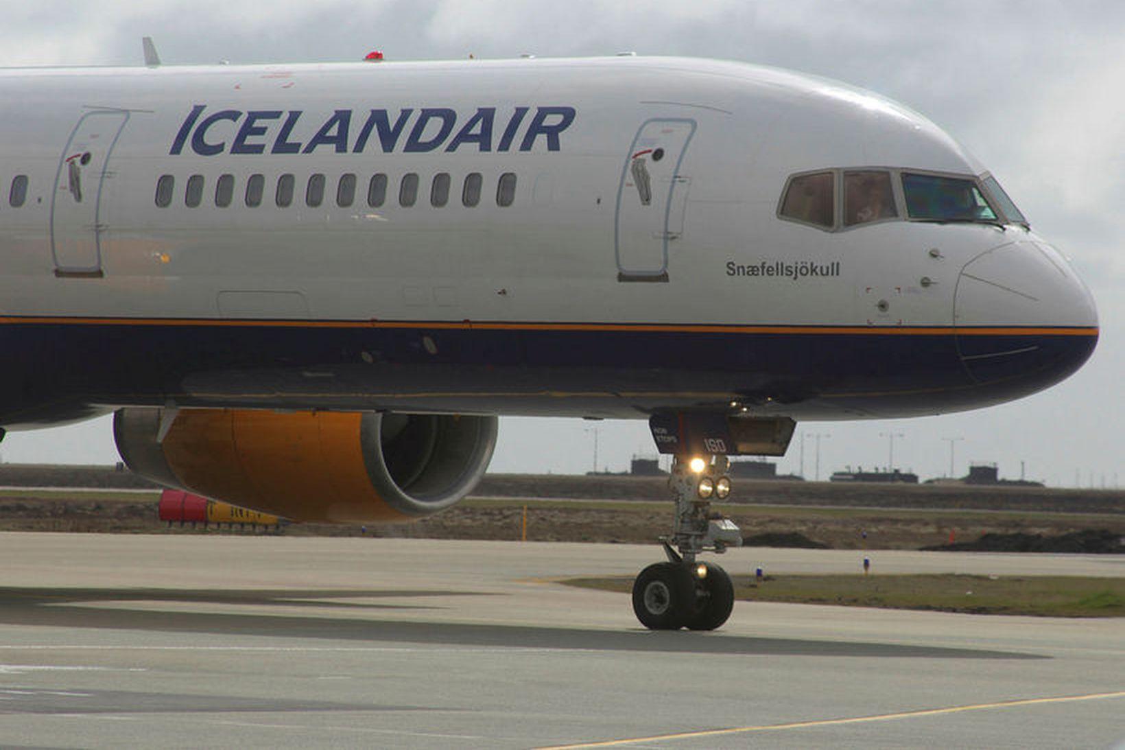 Flugvirkjar Icelandair eru komnir í verkfall.