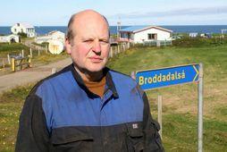 Torfi Halldórsson bóndi á Broddadalsá.