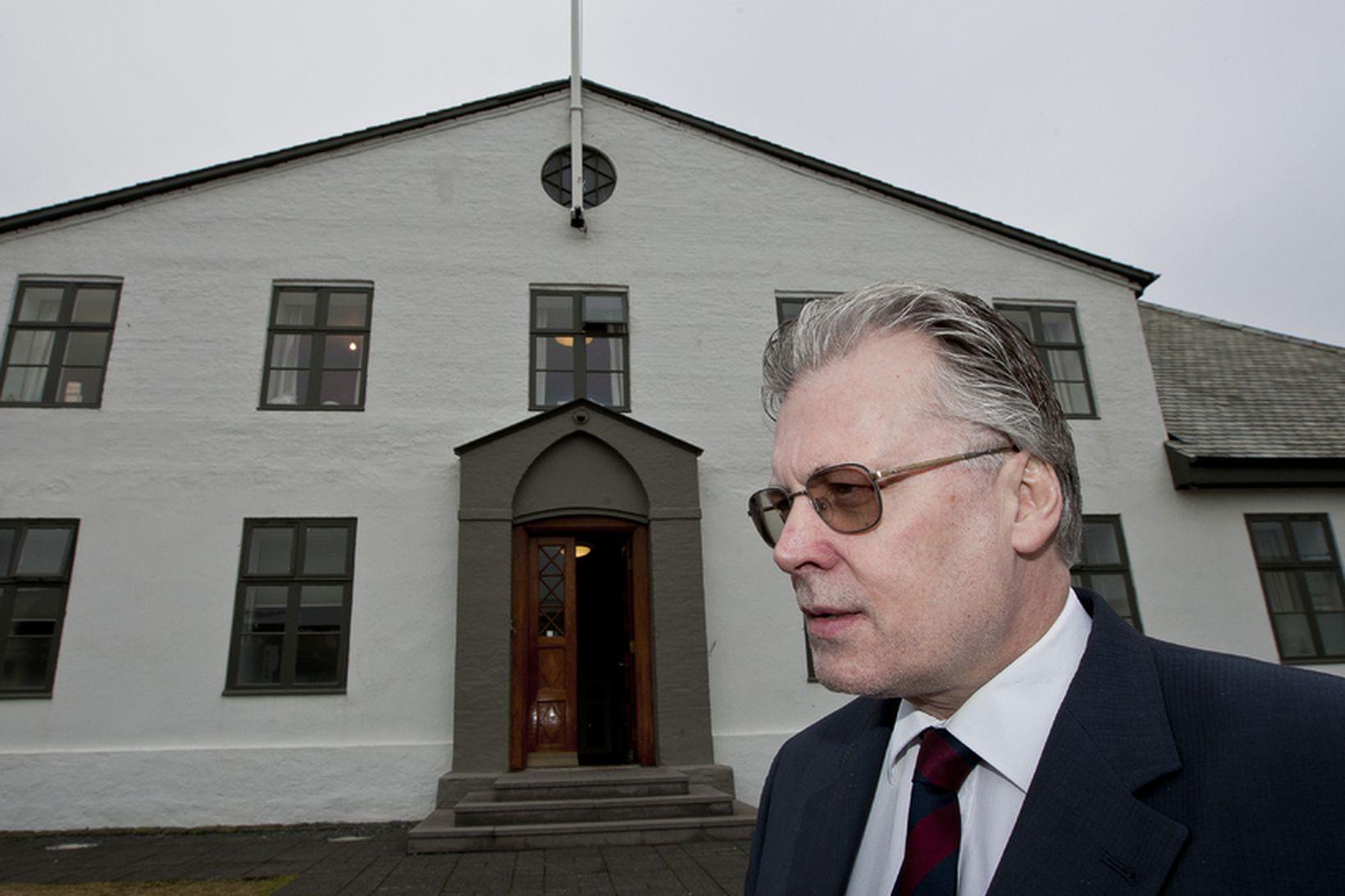 Ögmundur Jónasson, alþingismaður.