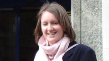 Helen Johnston er ein þeirra sem bjargað var úr klóm mannræningja í gær.
