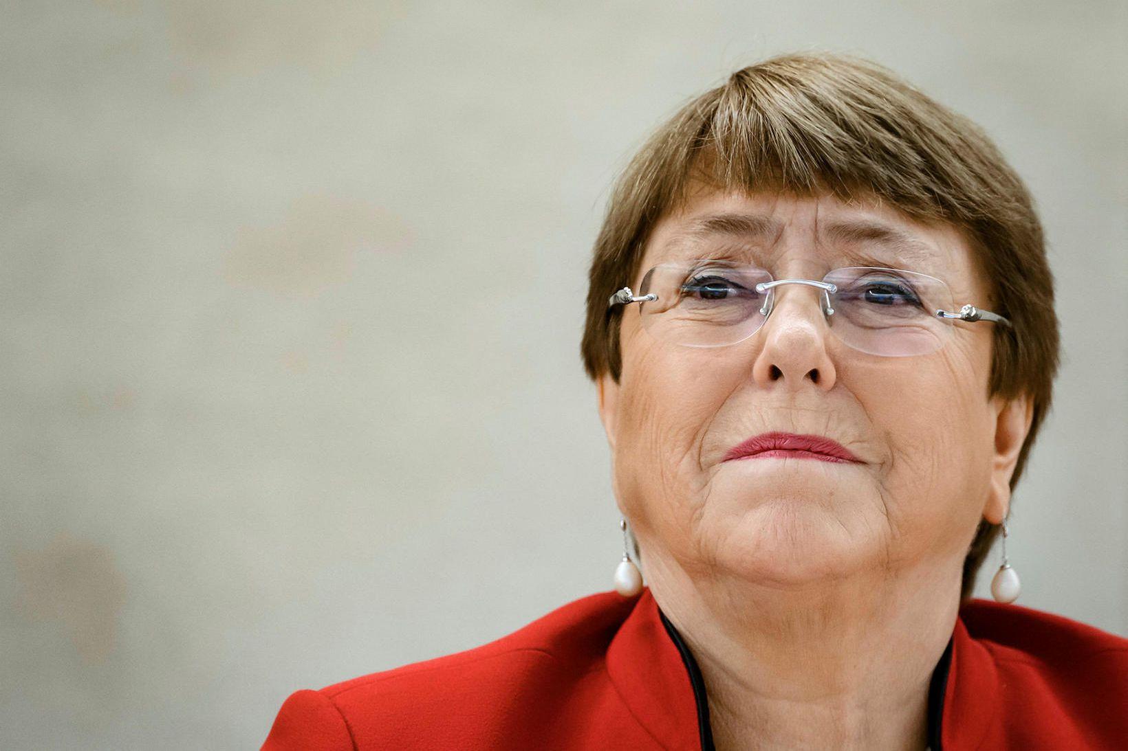Michelle Bachelet segir mikilvægt að vernda viðkvæma fanga fyrir veirunni.