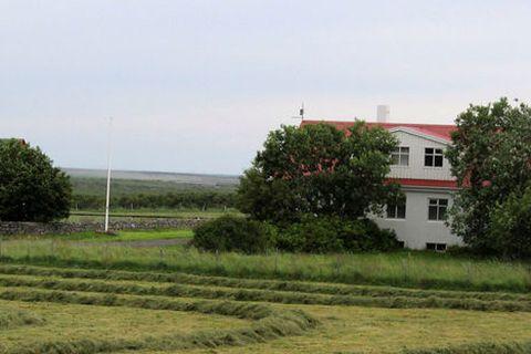 The farm Skinnastaðir in remote Öxnafjörður.