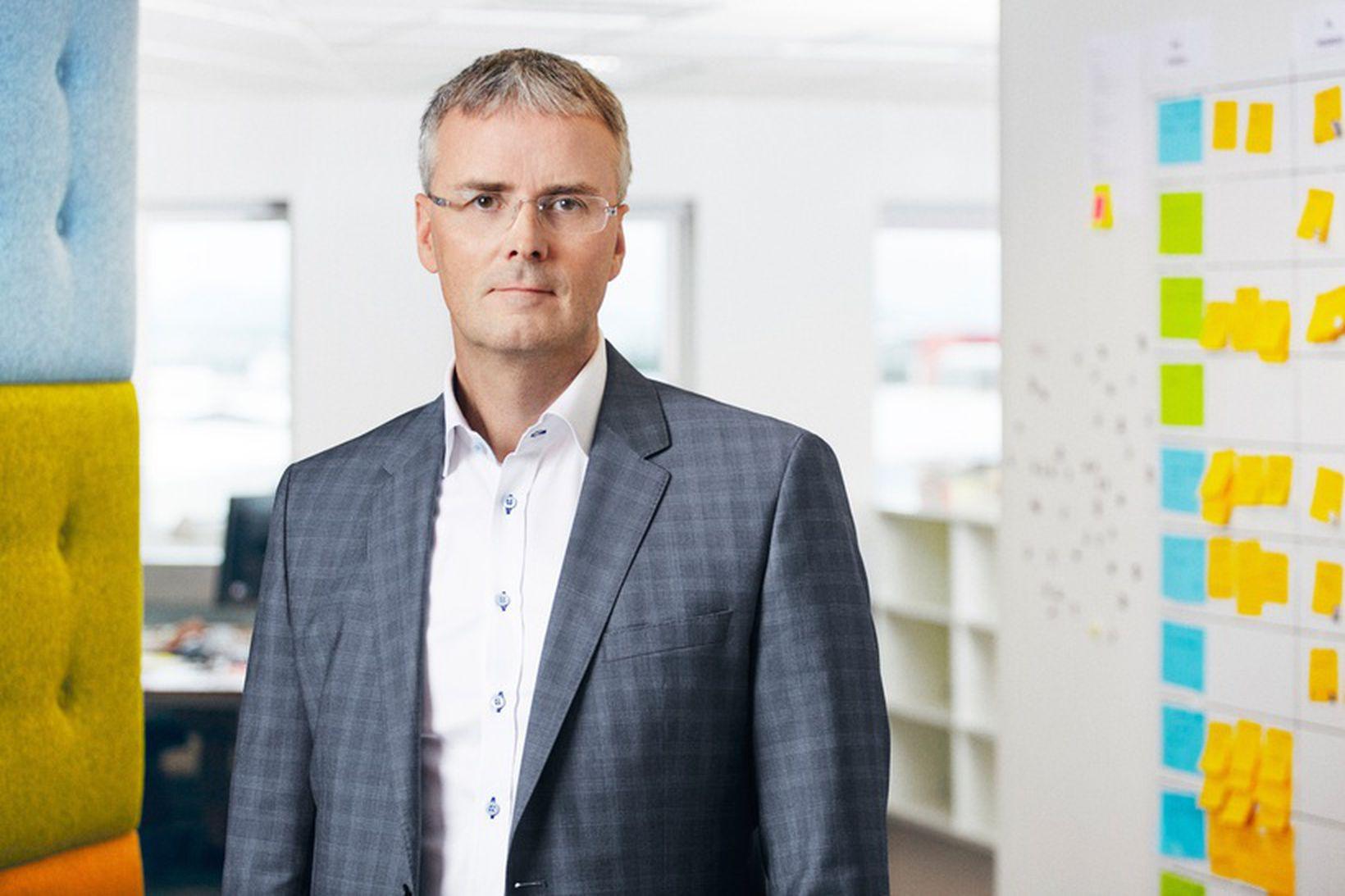Viðar Þorkelsson, forstjóri Valitor, segir að mikilvægt hafi verið að …