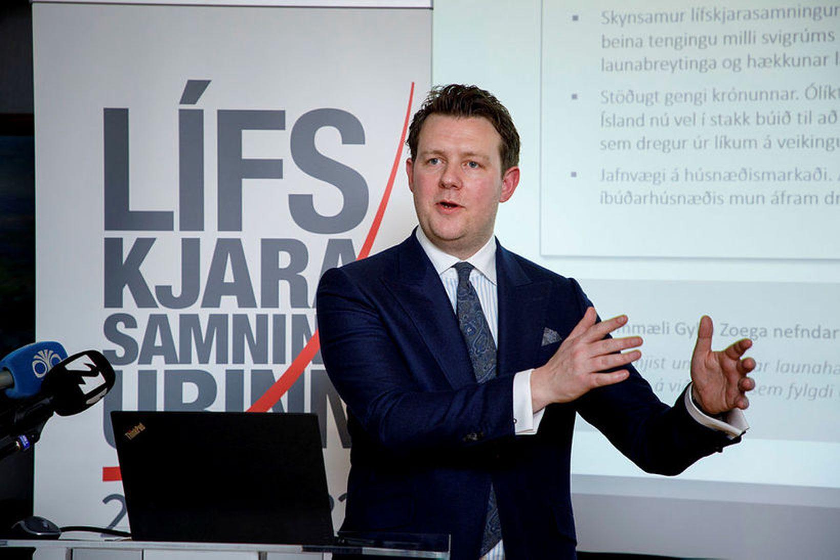 Halldór Benjamín Þorbergsson.