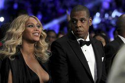 Beyonce of Jay Z gerðu vel við sig í foreldrafríinu.