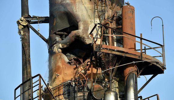Minnir á smærri útgáfu af Chernobyl