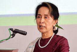 Aung San Suu Kyi hafði ekki síst síðan 1. febrúar.