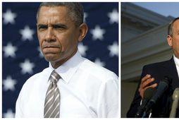 Það er stál í stál þar sem Barack Obama og Johyn Boehner mætast.