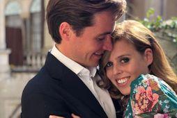 Sonur Beatrice prinsessu og Edoardo Mapelli Mozzi fær ítalskan titil frá pabba sínum.