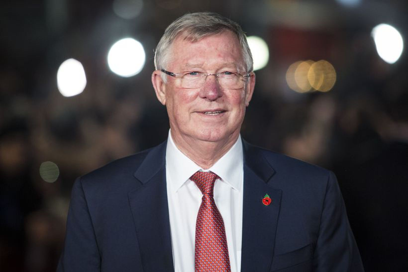 Sir Alex Ferguson, fyrrverandi knattspyrnustjóri Manchester United.