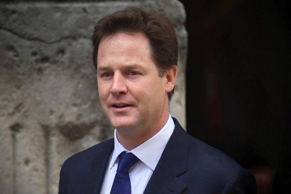 Nick Clegg, formaður Frjálslyndra demókrata.