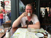 G. Pétur á góðri stund í Berlín.