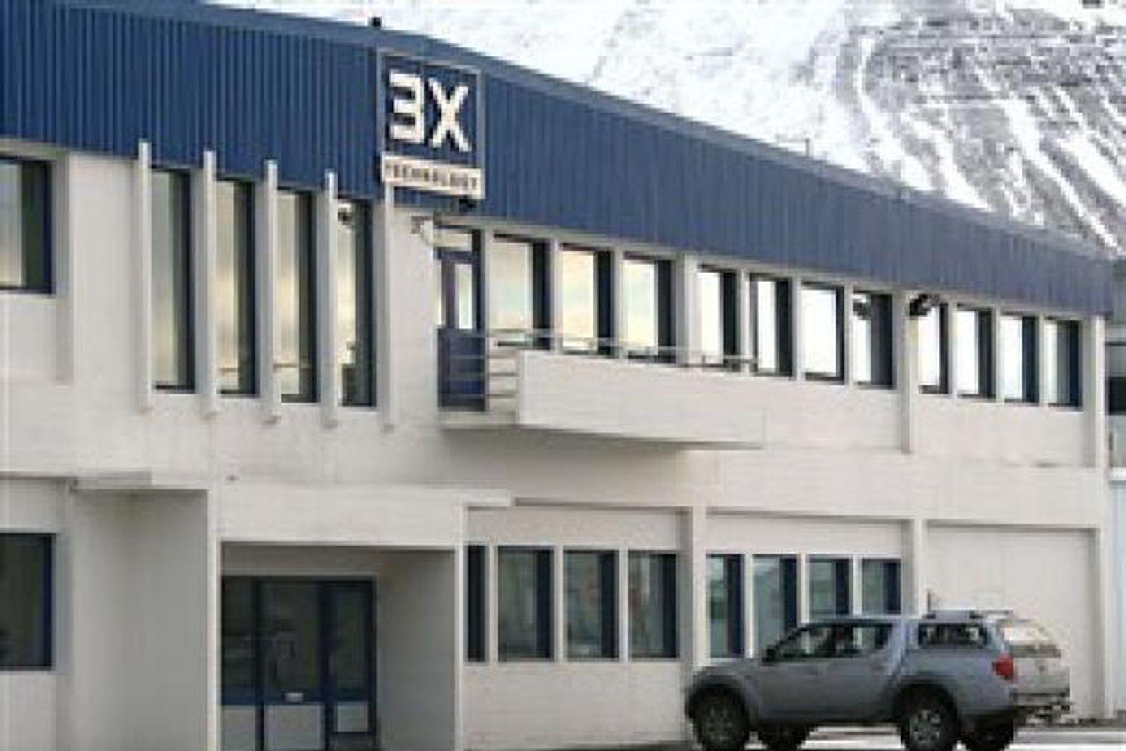 Höfuðstöðvar 3X á Ísafirði.