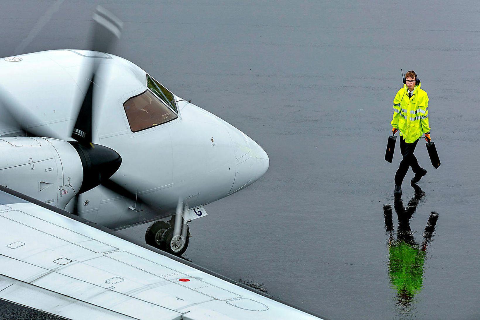 Iceland Air líta nú til vetnis- og rafknúins innanlandsflugs.