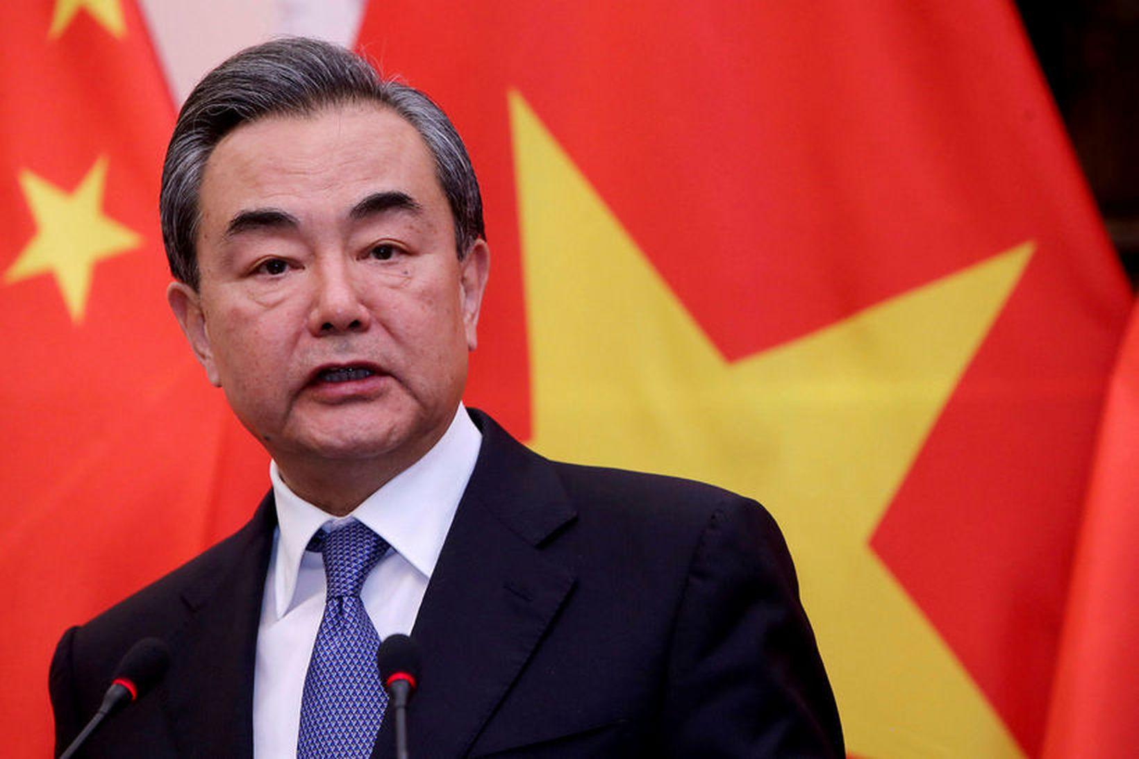 Wang Yi, utanríkisráðherra Kína.