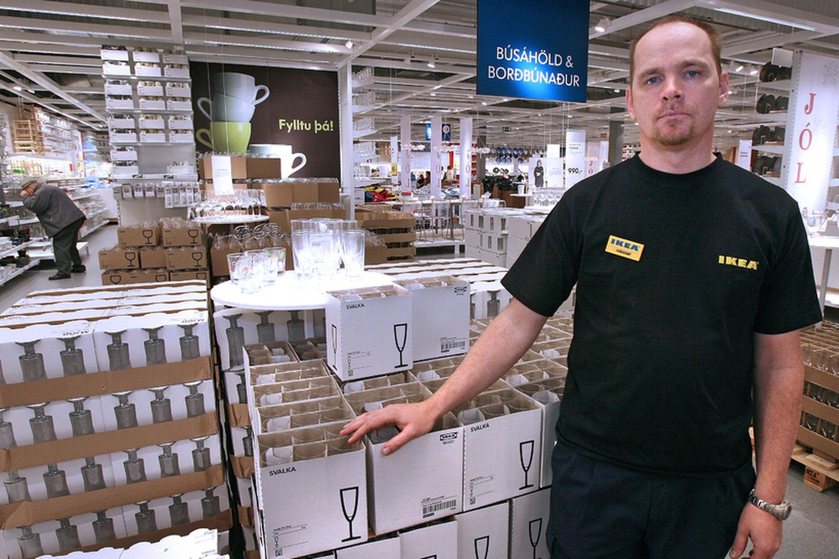 Þórarinn Ævarsson framkvæmdastjóri IKEA hefur vakið mikla athygli.