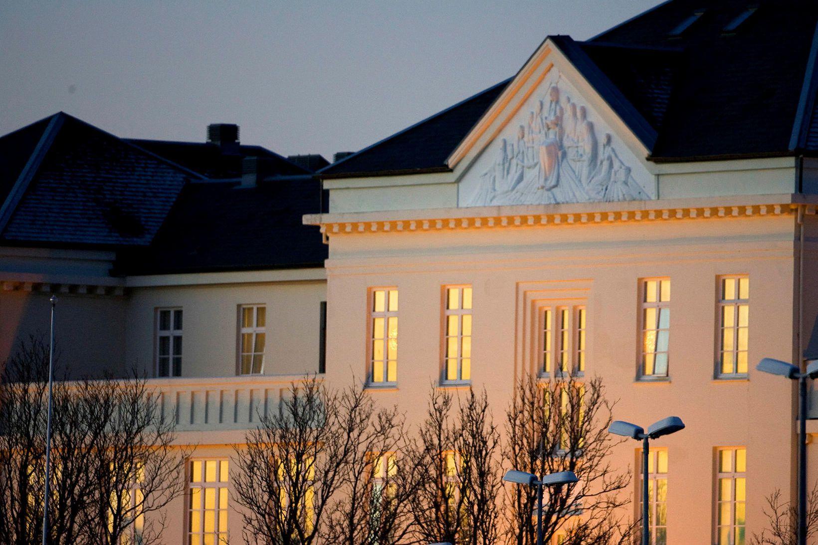 Fjórir eru inniliggjandi á Landspítala vegna Covid-19.