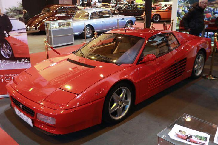 Ferrari 512 TR frá 1994 úr eigu rkkkóngsins Johnny Hallyday. Hann verður seldur á uppbopði ...