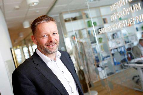 Þorsteinn Víglundsson, Minister for Social affairs in Iceland.