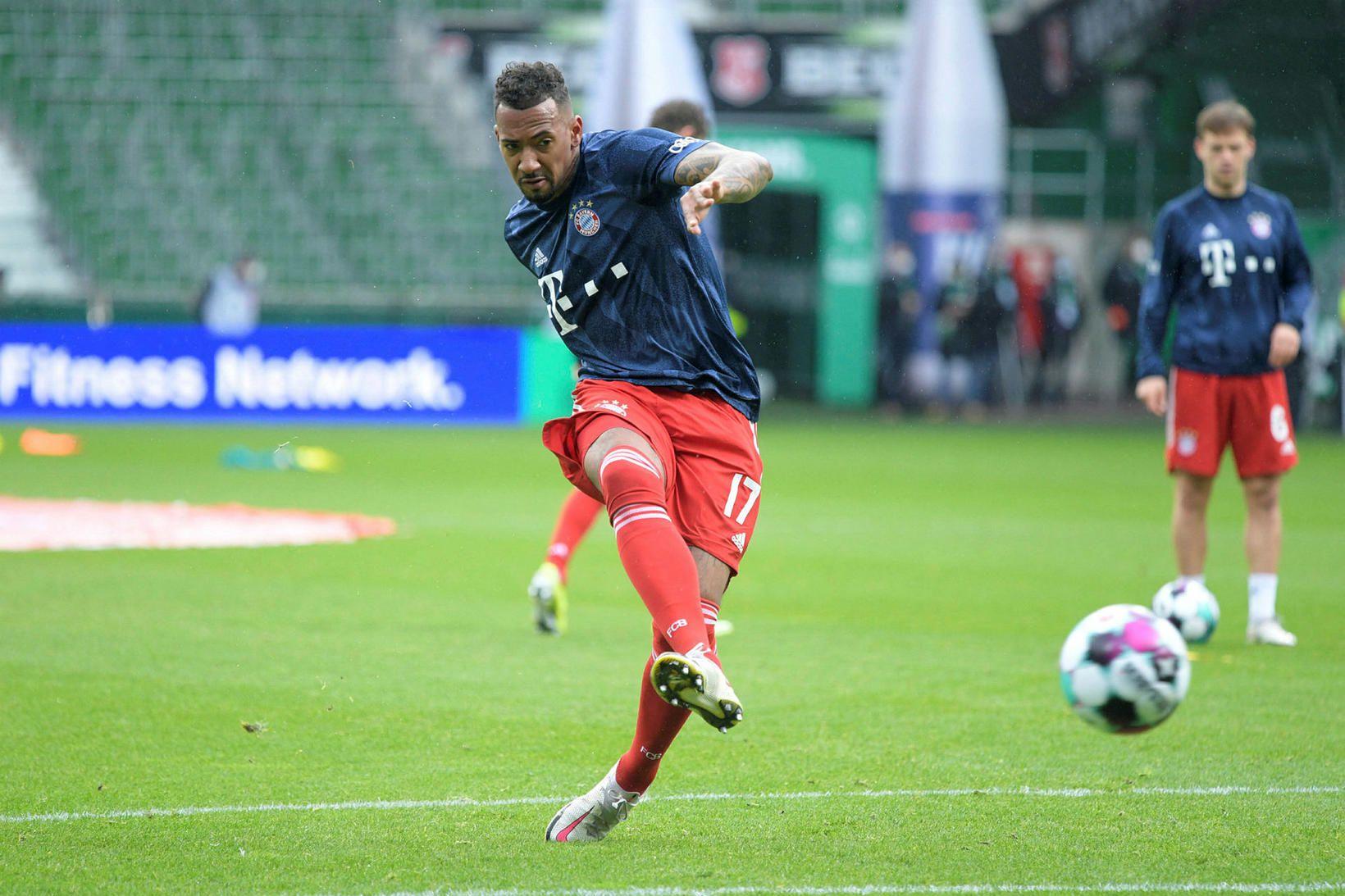Jerome Boateng yfirgefur Bayern eftir tímabilið.