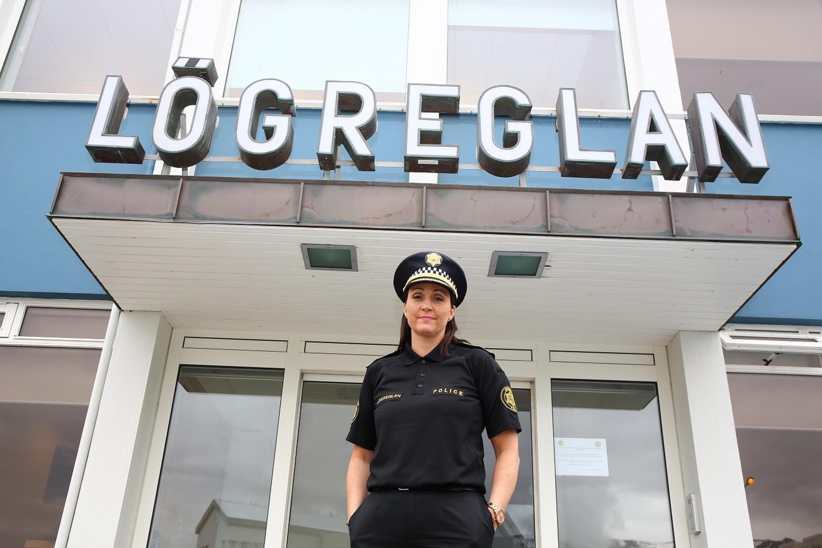 Páley Borgþórsdóttir lögreglustjóri Akureyri