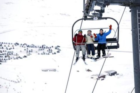 The chairlift in Bláfjöll, the blue mountains, is called Kóngurinn (The King).
