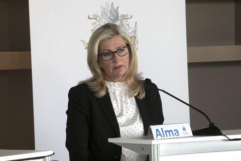 Director of Health Alma Möller.