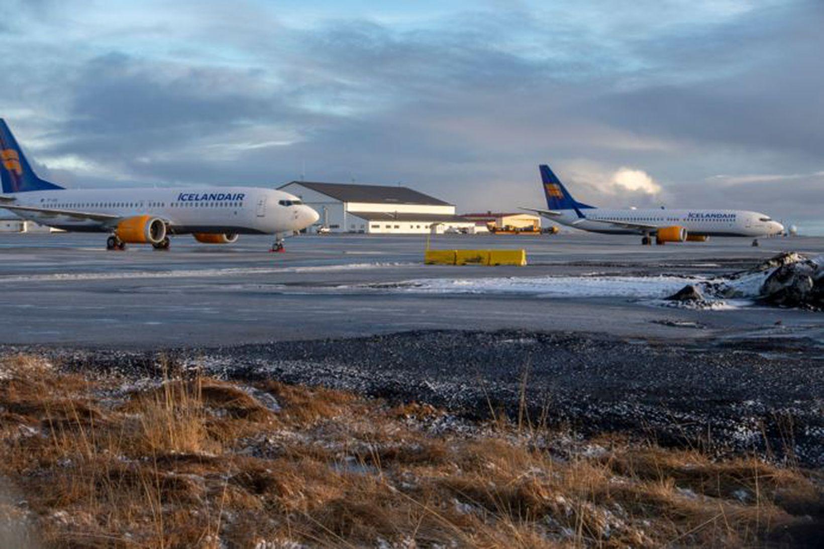 Icelandair hefur þegar fengið sex 737 Max-vélar afhentar frá Boeing …