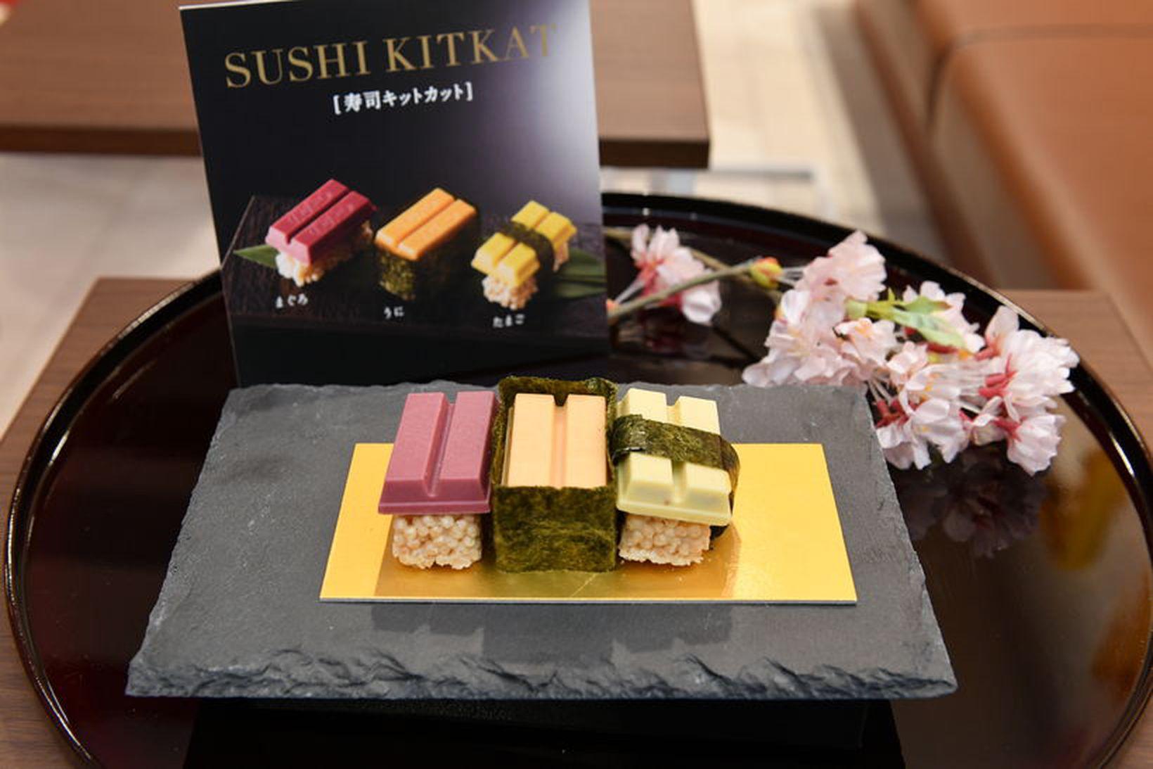 Nestlé í Japan eru þekktir fyrir að koma með nýstárlegar …