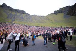 Þjóðhátíð í Vestmannaeyjum er drjúg tekjulind fyrir bæinn og ÍBV.