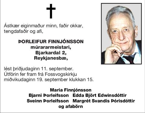 Þorleifur Finnjónsson
