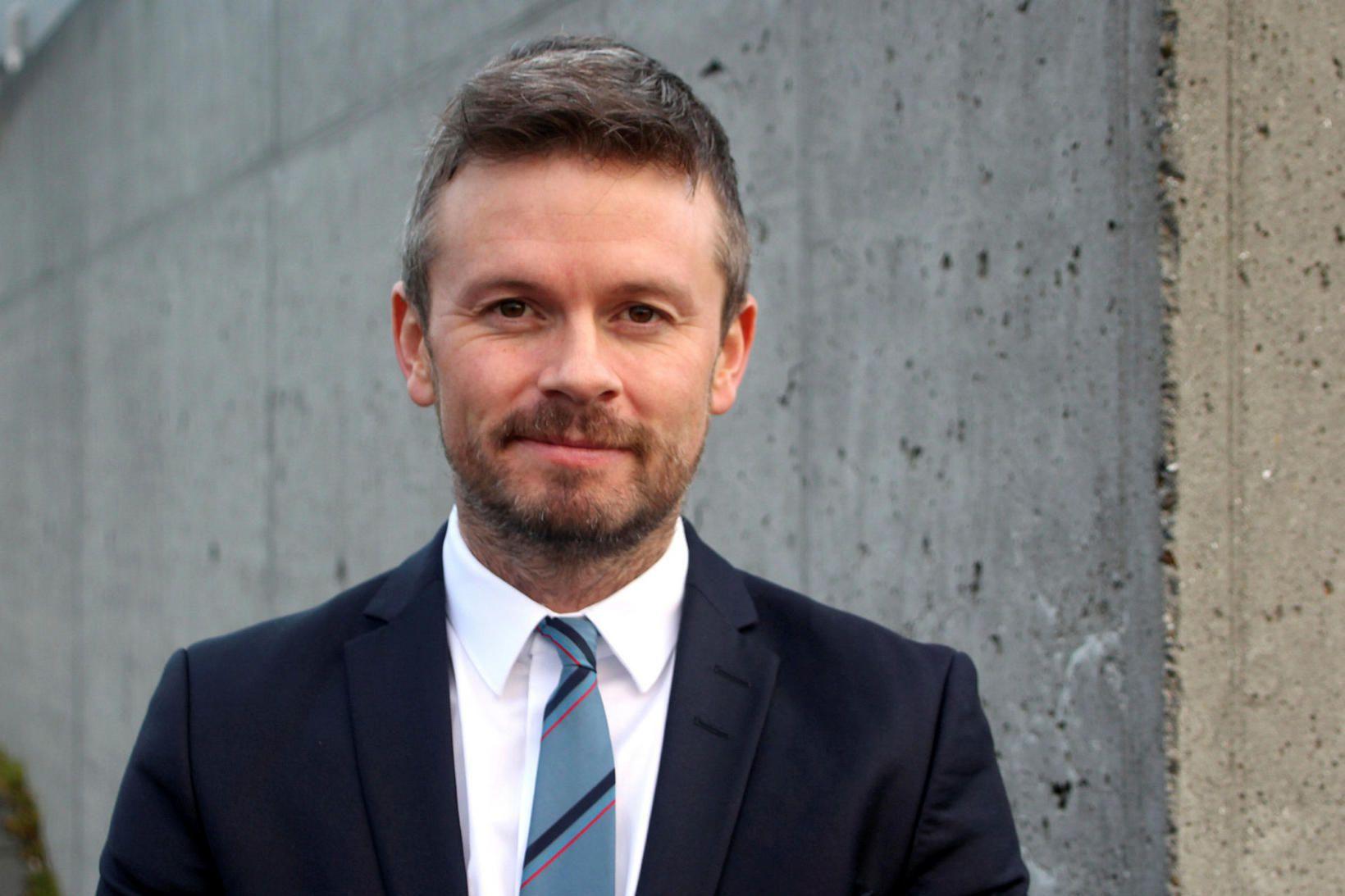 Ágúst Ólafur Ágústsson þingmaður Samfylkingarinnar.