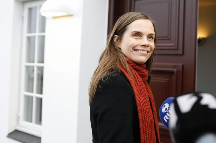 Katrín Jakobsdóttir, leader of the Left Green Movement could become Iceland's next Prime Minister.
