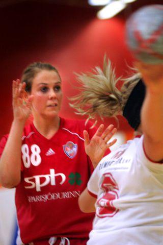 Arna Sif Pálsdóttir er gengin til liðs við Horsens.